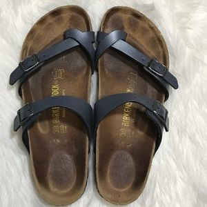 Bogobirkenstock Mayari Pewter Sandals