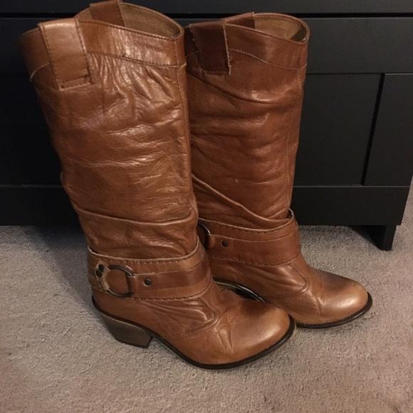 f25cbf31cf7 Steve Madden P-Diablo western boots