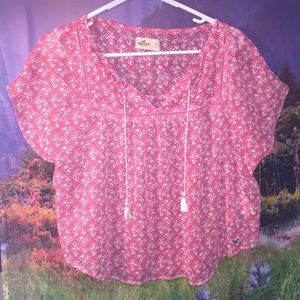 Hollister Tops - Adorable Hollister flowy sheer tunic top