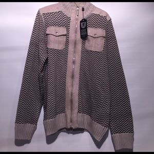 Stacy Adams Other - NWT Stacy Adams zip up sweater jacket