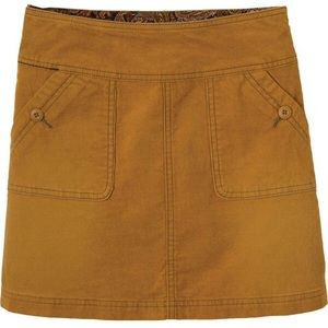 Prana Dresses & Skirts - PrAna canyon cord organic cotton skirt size 12