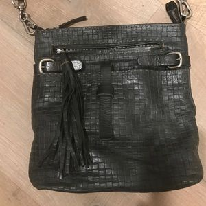 Carla Mancini Handbags - Woven Leather Cross Body Bag