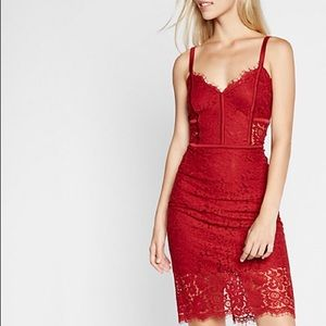 Express Dresses & Skirts - Express piped Lace dress