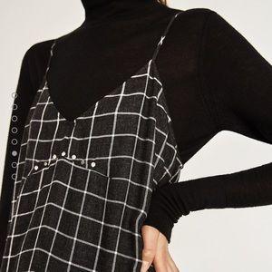 Zara Dresses & Skirts - 🆕Checked camisole dress