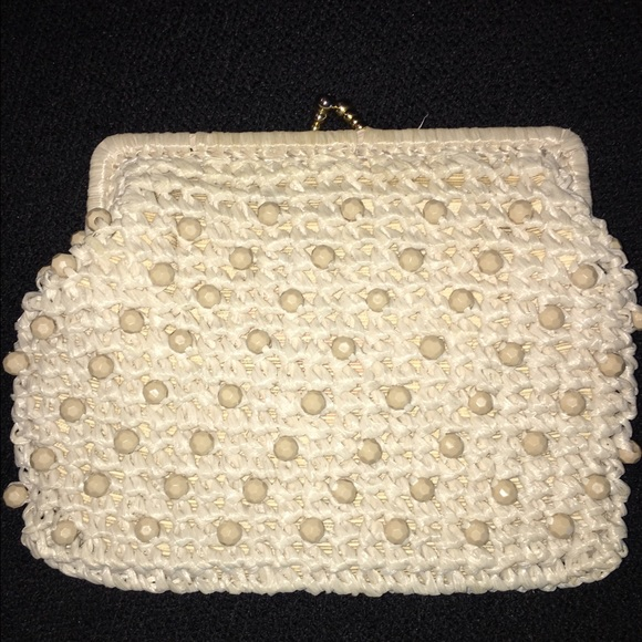 cfce7a4d28f Styled by Simon Italy Woven Clutch
