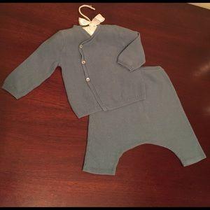 Bonpoint Other - Bonpoint 6 month openwork knit set