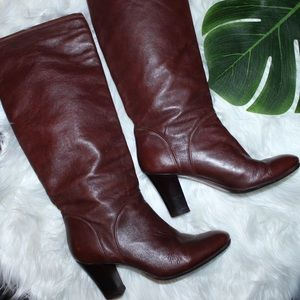 Rachel Comey Shoes - RACHEL COMEY - Brown Leather Heeled Boot Sz. 36