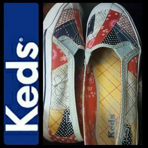 Keds Shoes - Keds Canvas Loafers Slip On