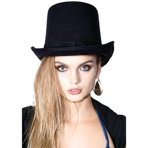 Dollskill Jinx Top Hat