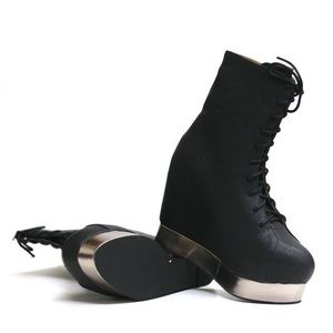 Jeffrey Campbell Back Off wedge boots
