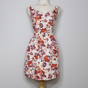 Pinky Dresses & Skirts - ❗️FINAL PRICE❗️PINKY Cream Ivory Rose Print Dress