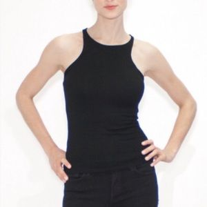 Atid Clothing Tops - Atid RECALL High Neck Racerback Tank Top