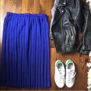 VINTAGE : pleated skirt