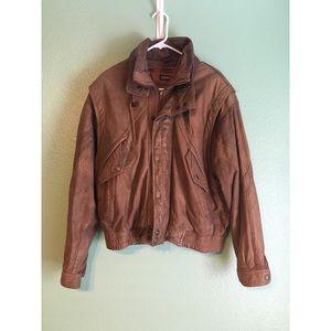 Jackets & Blazers - Vintage leather jacket