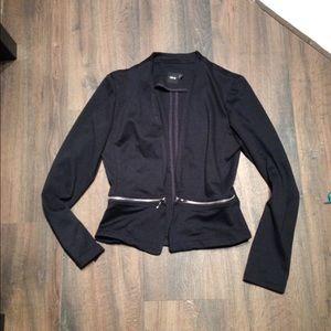 Asos Size 4 zippper Detail Knit Blazer/Cardigan