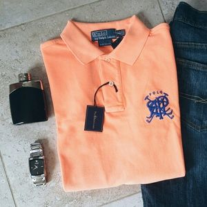 Polo by Ralph Lauren Other - {Polo Ralph Lauren} neon orange polo
