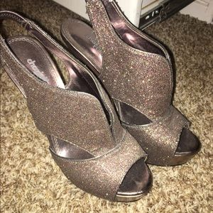 Shoes - Charlotte russe multi colored heels
