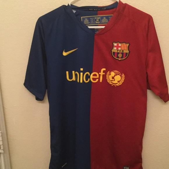 Nike Shirts Fc Barcelona Unicef Jersey Poshmark