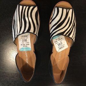 Franco Sarto Shoes - Franco Sarto Fur Zebra Flats!!