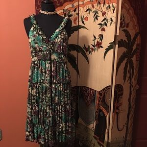 Kenar Dresses & Skirts - Cute Boho Tiered Sleeveless Dress