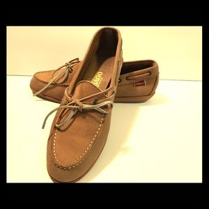 Sebago Shoes - Genuine Leather Sebago Moccasins. Sz10