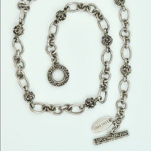 Lois Hill Jewelry - Gorgeous Lois Hill Sterling Silver Choker