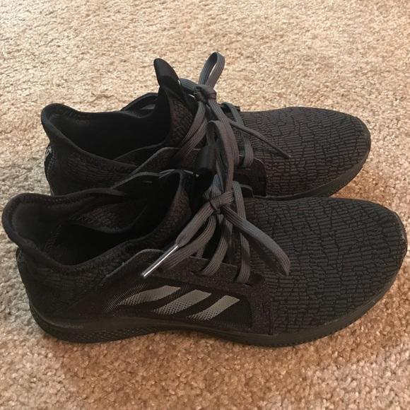 size 40 6212f f1f69 Adidas Shoes - Adidas Edge Lux BLACK Size 6.5