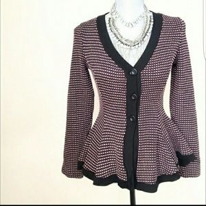 Flair button up sweater
