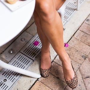 Boutique Shoes - Leopard Ballet Flats