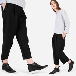 Everlane Shoes - Everlane Leather Street Ankle Bootie