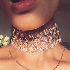 Diamond Goddess Choker