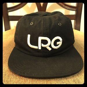 Lrg Other - LRG Black Strapback