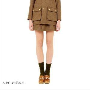 A.P.C. Shoes - A.P.C. Platform Wedge Loafer