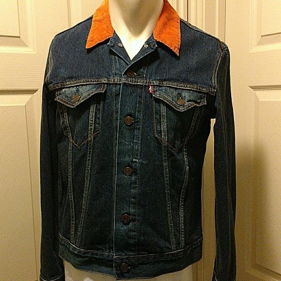 e7ecebd5bf Levi's Jackets & Coats   Levis Denim Jacket With Corduroy Collar ...