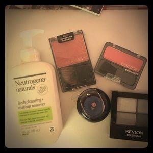 Bundle of makeup and makeup remover