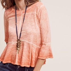 Anthropologie Tops - Anthropologie washed out tee XS