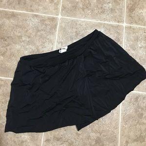 Black Skirt Swim Suit Bottom