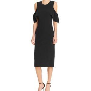Bardot Dresses & Skirts - Bardot Jessie Cold Shoulder Dress Black