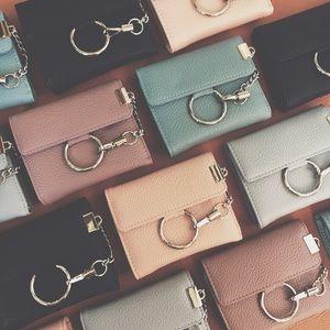 Handbags - 🆕 Kyndall O Ring Buckle Wallets