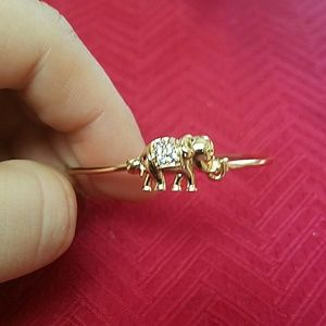 Other - FP New gold plated toddler baby elephant bracelet