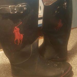 Ralph Lauren Other - Ralph Lauren  polo  rain boots