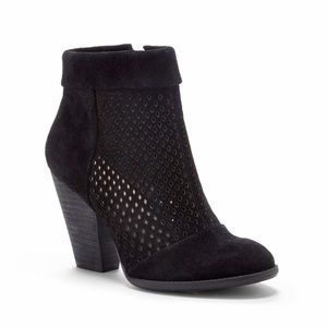 Sole Society Black SIDNEY Ankle Boots Booties 6.5