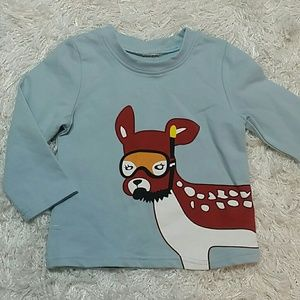 Other - Diving puppy long sleeves tee. Kids