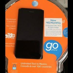 AT&T Nokia Lumia 635 cell phone