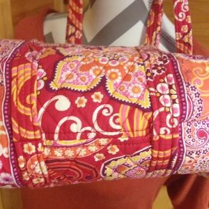 Vera Bradley Bags - Vera Bradley pink and orange purse raspberry fizz