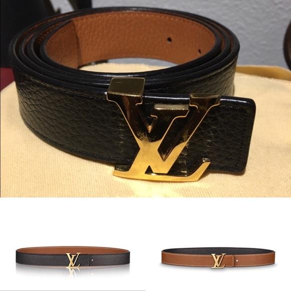 a60ab9acc5c9 Louis Vuitton Accessories - LV INITIALES REVERSIBLE BELT
