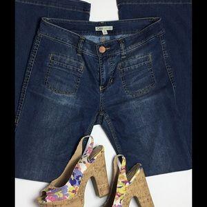Cabi 318 Hippie Flare Jeans