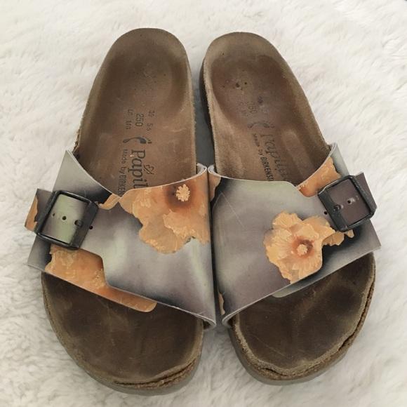 6cf438bfeac1 Birkenstock Shoes - Papillio by Birkenstock Floral Sandals size 6