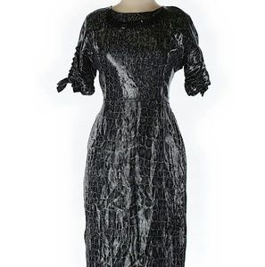 Blumarine Dresses & Skirts - Blumarine Cocktail Dress...Sz: 44 (IT)..Gray $1572
