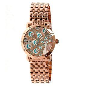 Michael Kors Accessories - Bertha Genevieve Rose Gold Ladies Quartz watch